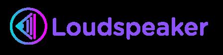 Loudspeaker logo